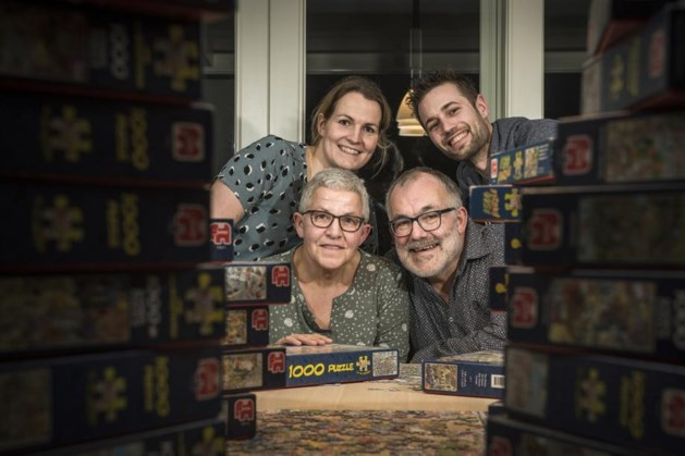 Limburgs team eindigt in achterhoede NK Legpuzzelen