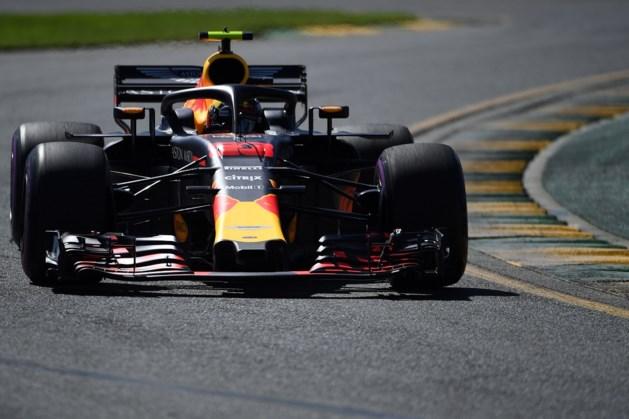 Verstappen sneller in tweede vrije training Australië