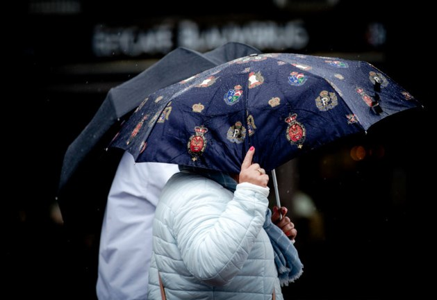 Sombere dag in Limburg: regenval en harde windstoten