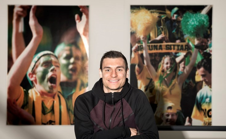 Voetbalnomade komt thuis bij Fortuna: 'We zijn als een familie'