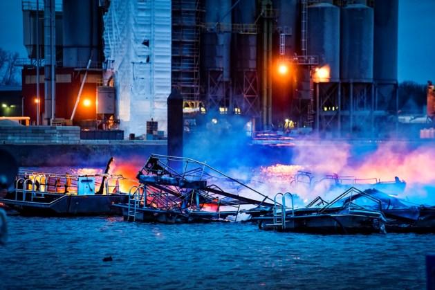 Baas jachthaven vervolgd voor fikse havenbrand