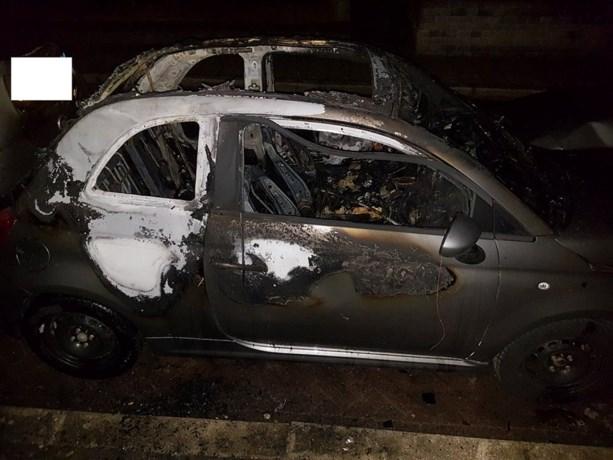 Auto in brand gestoken in Kerkrade