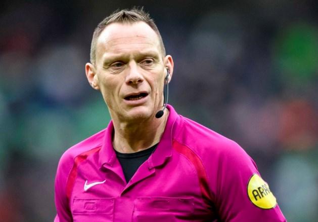 Play-offtoetje voor afzwaaiend scheidsrechter Janssen