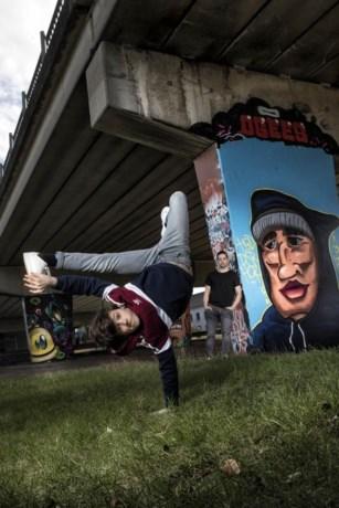 Breakdancer Bboy uit Nederweert Lorenzo in tv-programma Time to Dance