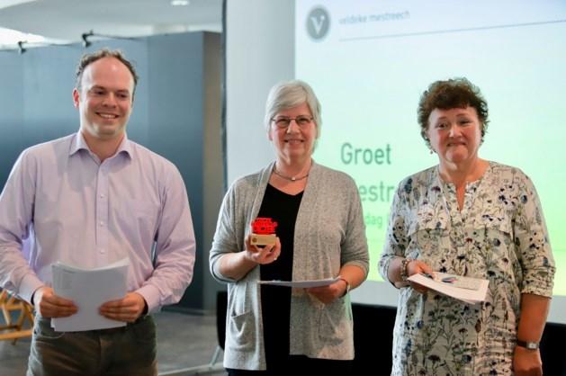 Huguette van Dooren (67) wint Groet Mestreechs Dictee