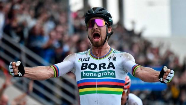 Peter Sagan zegeviert in Parijs-Roubaix