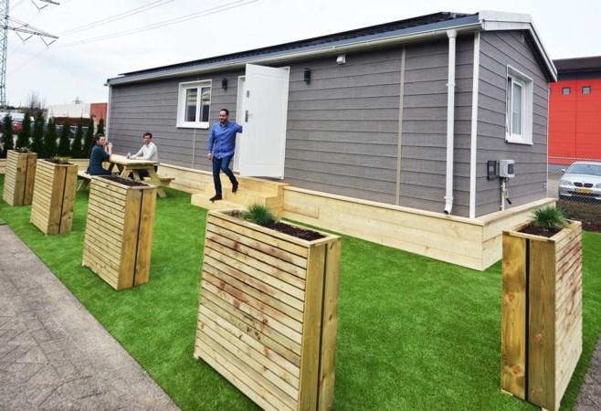 Mobiele huisjes voor hulptroepen in Limburg