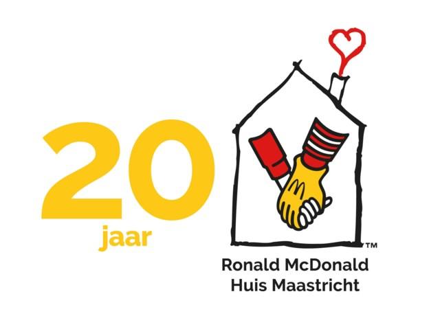 Oud-gasten bij twintigste verjaardag Ronald McDonald Huis Maastricht