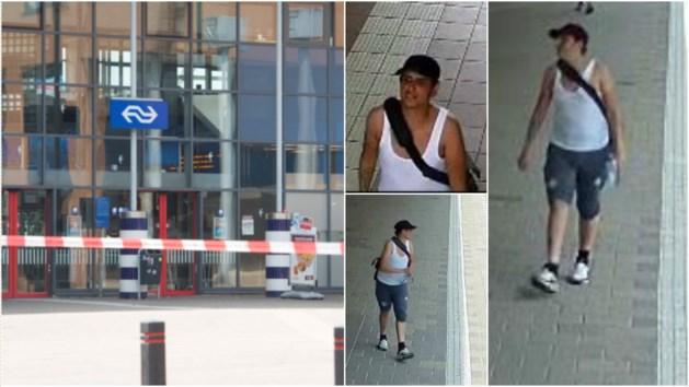 Politie zoekt man die 'bom, bom!' riep op station Sittard