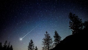 Veel vallende sterren te zien komende nacht