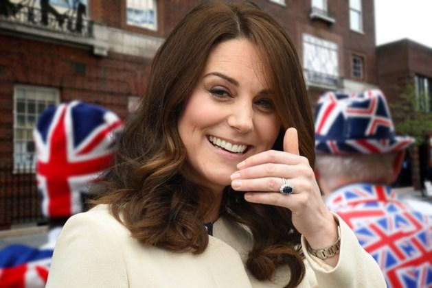 Kate bevallen van jongetje