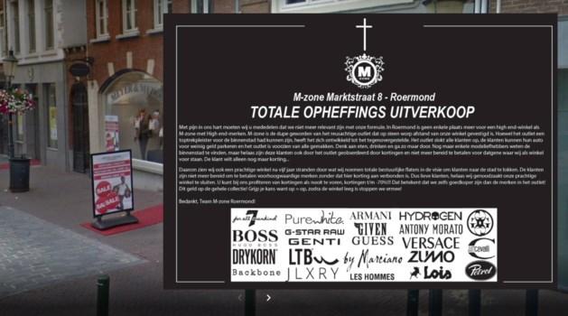 Overlijdensadvertentie winkel als protest tegen 'falend beleid' gemeente