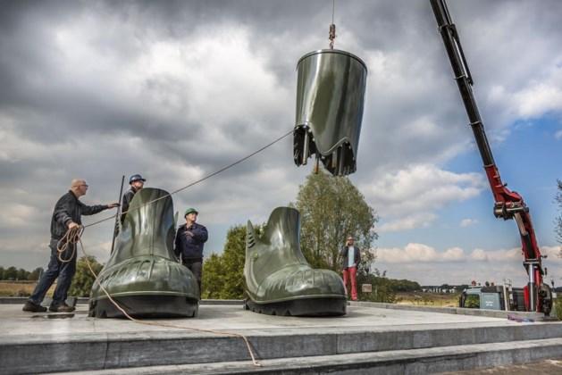 Laarzen Floriade Venlo 'wandelen' naar nieuwe plek