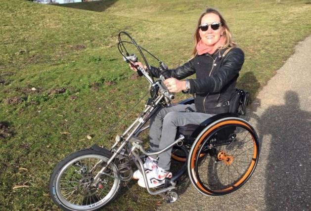 Speciale fiets van handbikester Gwen van Rosmalen gestolen