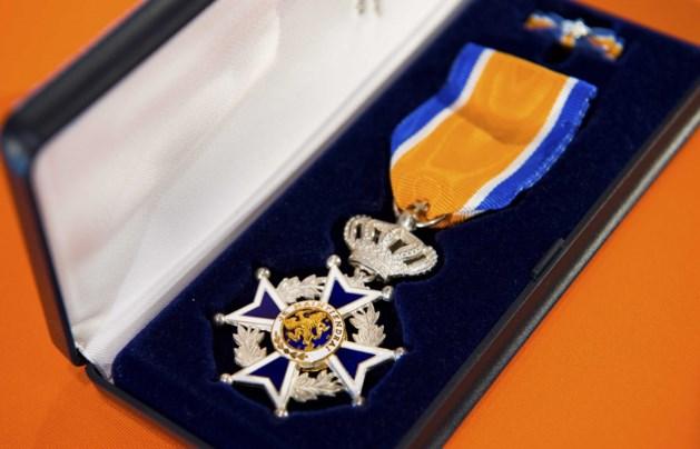 Koninklijke onderscheiding voor brandweermannen