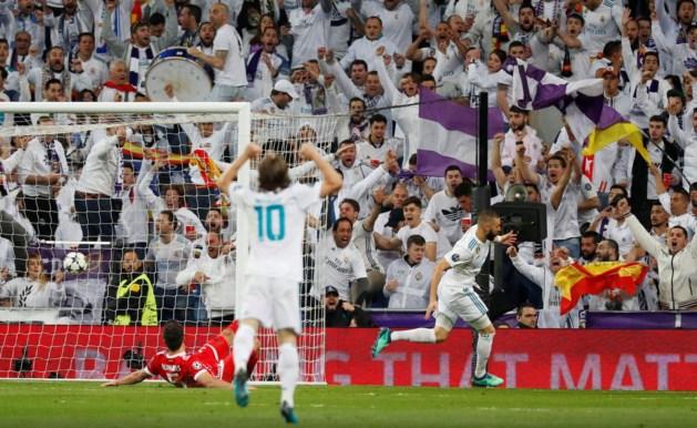 Real Madrid voor derde keer op rij naar finale Champions League