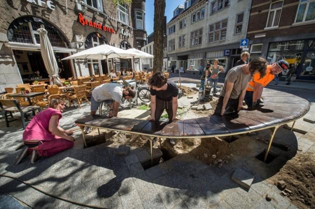 Pleintje Maastricht vergroot voor de veiligheid