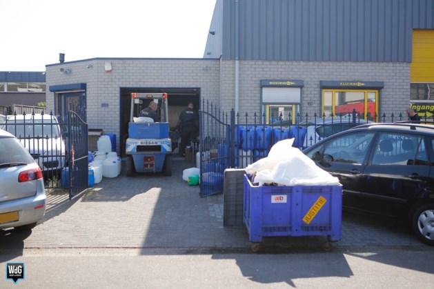 Politie vindt drugslab bij autobedrijf Weert