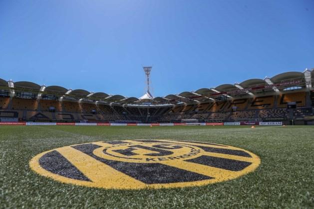 Roda-spelers bellen met supporters