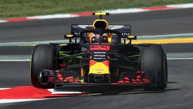 Verstappen vierde in eerste training Barcelona