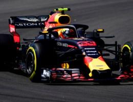 Max Verstappen kwalificeert zich als vijfde in GP Barcelona