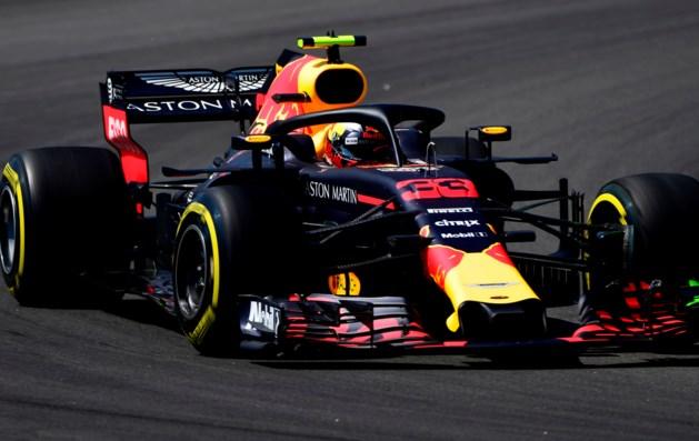 Zesde tijd voor Verstappen in eerste training Silverstone
