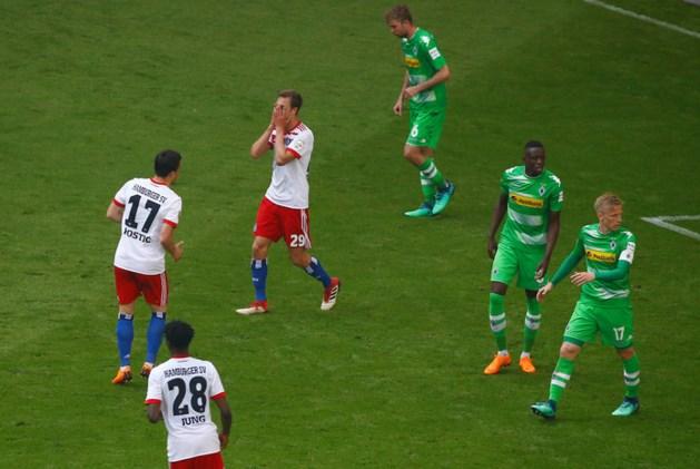 Hamburger SV degradeert voor eerst in historie uit Bundesliga