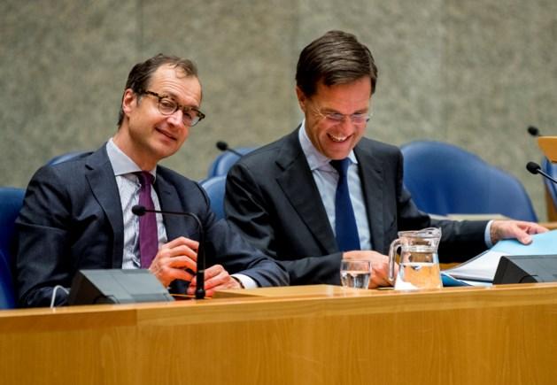 'Vertrouwen in Rutte en Wiebes zakt flink'