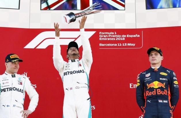 Verstappen rijdt in Spanje naar eerste podium van seizoen