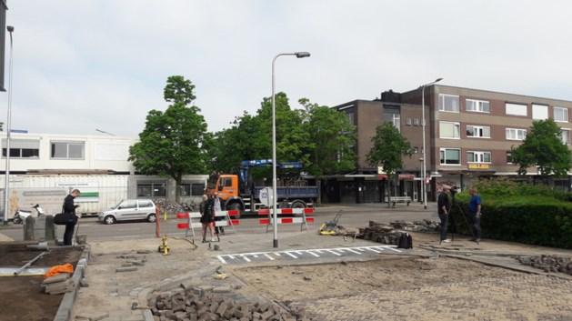 Lantaarnpaal midden op de weg in Nijmegen: 'Foutje'