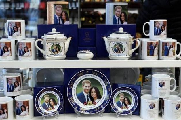 Condooms en cornflakes als aandenken aan huwelijk prins Harry en Meghan