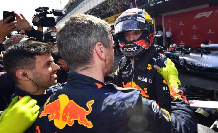 Max Verstappen gaf in Spanje het enige juiste antwoord