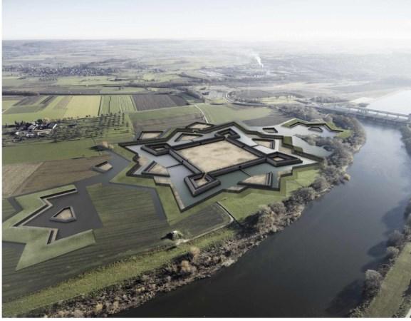 Fort Navagne bij Eijsden wordt weer zichtbaar