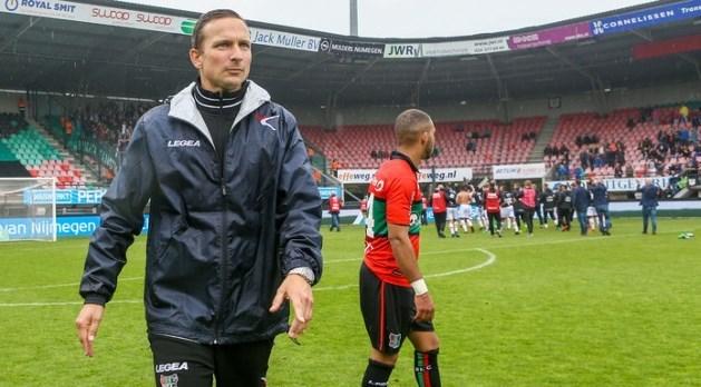 Limburgse trainer van NEC niet van plan om op te stappen