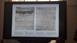 Twee onbekende pagina's van Anne Frank leesbaar gemaakt