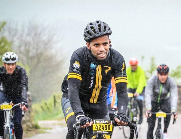 Maastrichtenaar fietst Elfstedentocht voor Prinses Beatrix Spierfonds