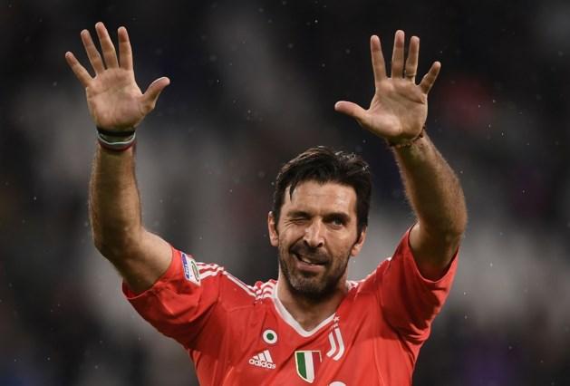 Legendarische doelman Buffon vertrekt bij Juventus