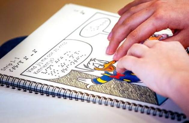 Gratis Donald Duck voor blinde en slechtziende kinderen