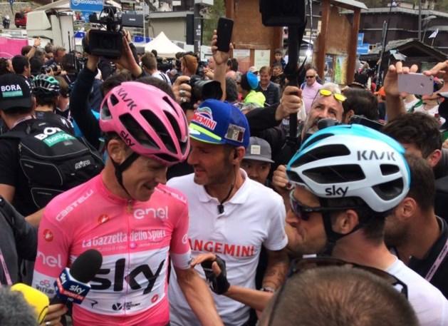Dumoulin valt aan, maar Froome houdt stand in laatste bergrit Giro