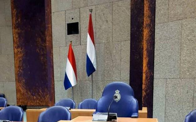 Kaasvlaggetje Tweede Kamer maakt plaats voor driekleur met 'grandeur'