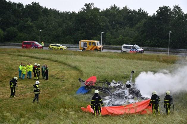 Piloot omgekomen na neerstorten sportvliegtuigje bij Breda Airport