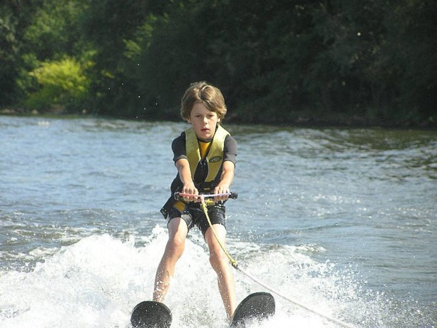 Waterskiën en wakeboarden voor een prikkie op Open Dag Treech