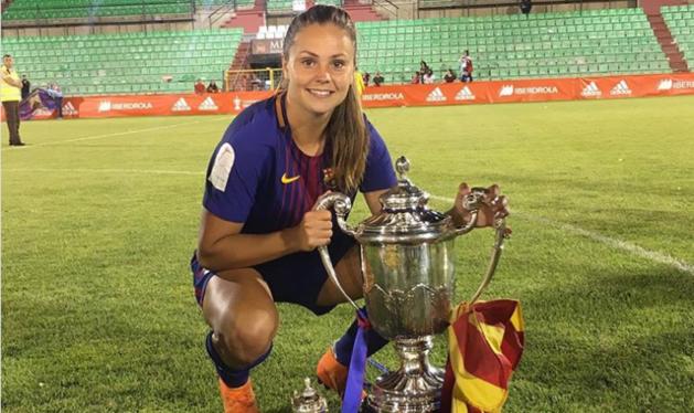 Lieke Martens wint met Barcelona Spaanse beker