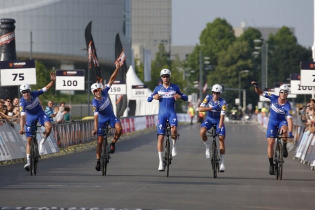 Quick-Step winnaar van Hammer Series in Limburg