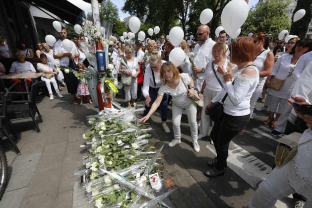 Bijna 3000 mensen in witte mars voor slachtoffers Luik