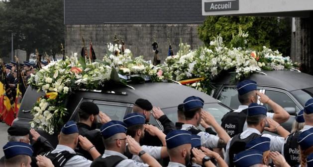 Luik neemt afscheid van doodgeschoten agentes Soraya en Lucille