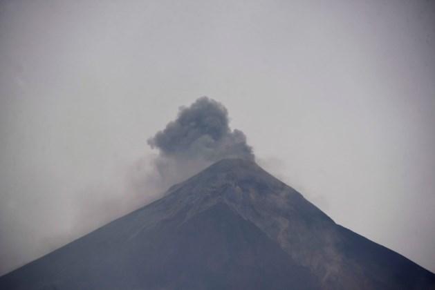 Nieuwe uitbarsting vulkaan Guatemala