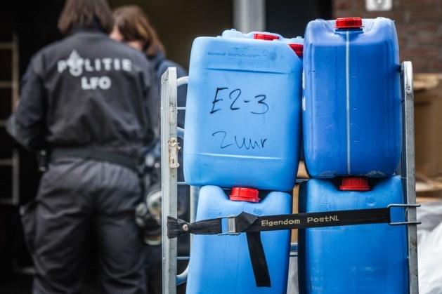 Zeven aanhoudingen in onderzoek naar drugslaboratoriums en dumpingen