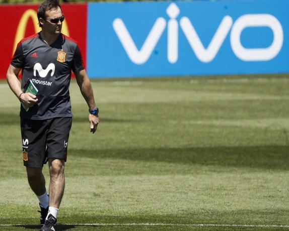 Spanje ontslaat bondscoach vlak voor WK vanwege overstap naar Real Madrid