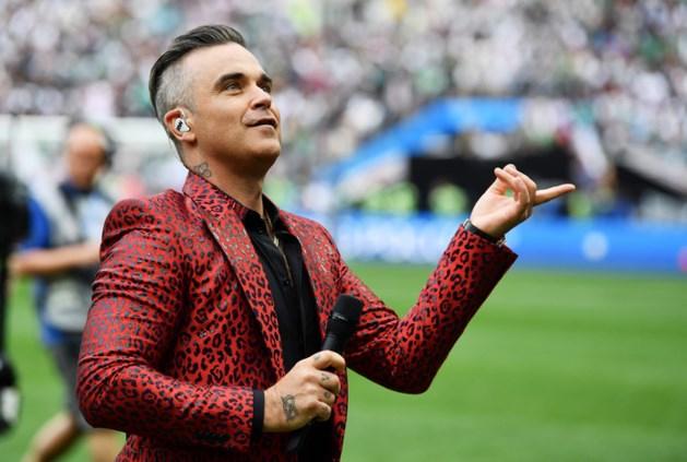 Fox zegt sorry voor middelvinger Robbie Williams